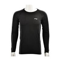 李宁运动健身服男速干衣跑步训练服紧身衣健身房压缩衣