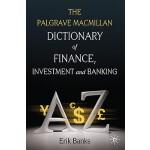 【预订】The Palgrave MacMillan Dictionary of Finance, Investmen