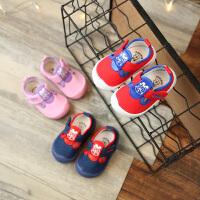 婴儿学步鞋 春季童鞋男女宝宝鞋镂空1-2-3岁软底休闲小童单鞋