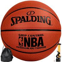 斯伯丁SPADLING篮球室内外通用NBA经典掌控 比赛篮球 斯伯丁76-169篮球6号
