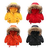 婴儿外套男秋冬装加绒加厚保暖小童女宝宝秋装衣服冬季外出