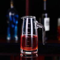 红兔子 带刻度红酒醒酒器烈酒杯倒酒壶酒具 无铅水晶玻璃红酒醒酒器套装带刻度分酒器