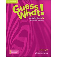 Guess What! Level 5 Activity Book with Online Resources Brit
