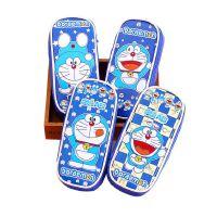 卡通韩国文具创意哆啦A梦叮当猫大容量多功能帆布笔袋笔盒
