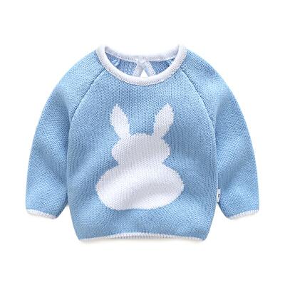 婴儿新款毛衣宝宝针织衫春装童童小童套头针织打底韩版上衣 发货周期:一般在付款后2-90天左右发货,具体发货时间请以与客服协商的时间为准
