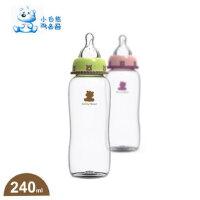 小白熊 母体实感标准口径PP奶瓶 09301 新生儿喂哺用品240ML