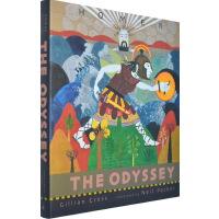 英文原版 The Odyssey 奥德赛 神话故事 荷马史诗精装收藏版