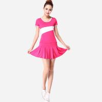 春夏季2015年广场舞服装套装短袖小苹果团队运动演出舞蹈服女