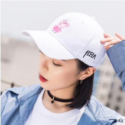帽子女韩版休闲百搭嘻哈潮人天才学霸鸭舌帽男学生街头棒球帽