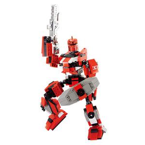 【当当自营】小鲁班星际变形机甲系列儿童益智拼装积木玩具 究极机甲-赫淮斯托斯M38-B0212