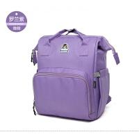 妈咪包多功能大容量妈咪包双肩外出背包时尚妈妈包母婴包待产包