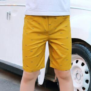 乌龟先森 儿童短裤 男女童棉质单色热裤夏季韩版新款时尚休闲糖果色沙滩裤中大童款裤子