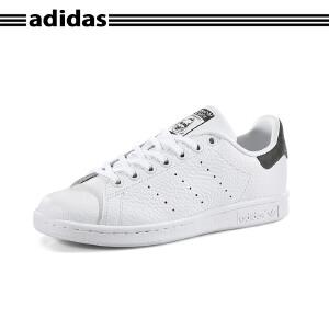 Adidas/阿迪达斯大童史密斯黑尾休闲板鞋S77179