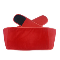 春笑 二合一暖腰宝 暖腰带 电暖袋 含电热水袋 暖腹宝 红色