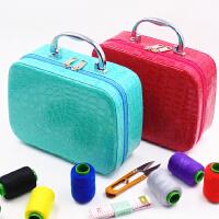 物有物语 针线盒套装 便携式手提居家缝补收纳盒缝纫手缝线针线包
