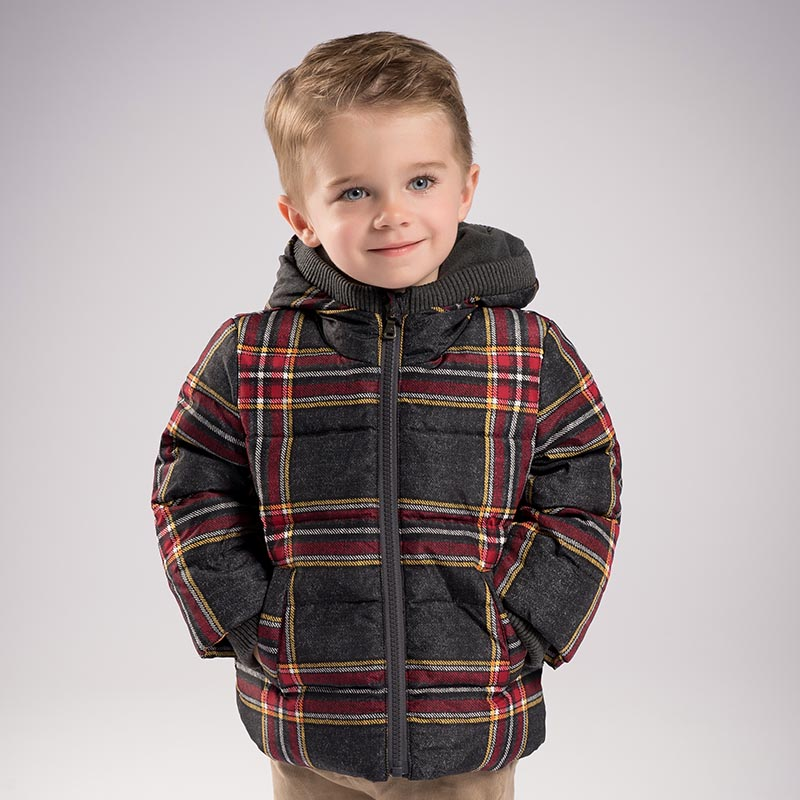 davebella戴维贝拉冬季 男童连帽90绒羽绒服DB6103戴维贝拉 每周二上新  0-6岁品质童装