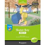 黑布林英语阅读 小学d级别3:滑板少年(附光盘)