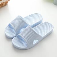 情侣家居浴室拖鞋 室内洗澡地板男士防滑居家塑料拖鞋女