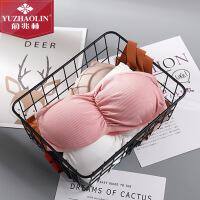 俞兆林 2件春夏新款防走光抹胸性感迷人塑形美背无肩带镂空女士抹胸Ⅱ