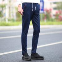 运动裤男长裤薄款健身跑步透气宽松大码修身卫裤韩版潮流