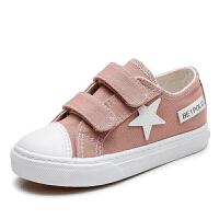 儿童帆布鞋春秋女童鞋子男童板鞋软底休闲女童单鞋