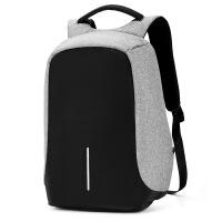 双肩包男15.6寸电脑包多功能防盗书包学生青年背包旅行休闲商务潮SN0528