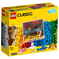 【当当自营】LEGO乐高积木经典创意Classic系列11009 会发光的积木