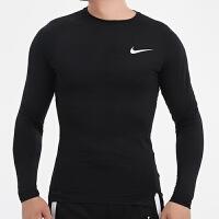 幸运叶子 Nike耐克长袖卫衣男秋季新款运动服套头衫透气T恤BV5589-010