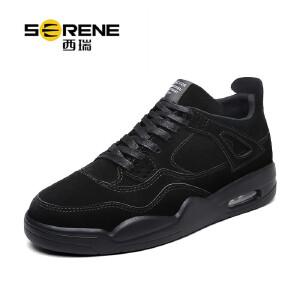 西瑞男士运动休闲鞋防滑减震气垫跑步鞋新款低帮男鞋子ZC6500