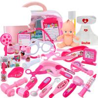 儿童医生玩具套装仿真女童3-5过家家女孩6岁7护士听诊器打针医院8