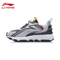 李宁休闲鞋男鞋2020新款时尚潮流复古男士低帮运动鞋AGCQ335