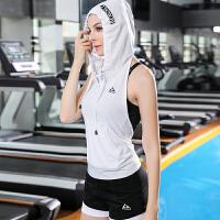 运动吊带背心女健身房跑步学生性感速干健身衣女性感夏季个性外套