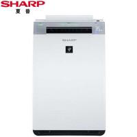 夏普(SHARP)空气净化器 KI-GF60-W家用卧室客厅 除雾霾 除甲醛过敏源PM2.5净离子群除菌无雾加湿
