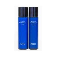 韩国直邮 AHC 补水保湿舒缓二代新版玻尿酸B5水乳套装120ml 海外购