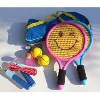 儿童羽毛球拍初学小男孩宝宝网球拍玩具幼儿园户外运动1-2-3-12岁p