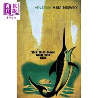 【中商原版】老人与海英文原版小说 英文版The Old Man and the Sea  英文原版书 正版 海明威 经典小说 中学经典名言出自小说中