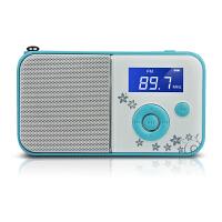 【当当自营】 熊猫/PANDA DS-111 数码音响播放器 插卡音箱 立体声收音机 蓝色