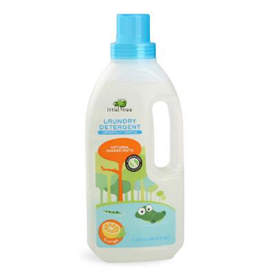 清洁 英国品牌little tree小树苗 婴儿洗衣液甜橙味 舒敏洗衣液