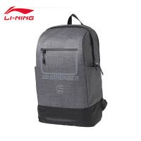 李宁双肩包男包新款训练系列背包书包学生运动包ABSN093