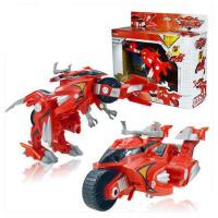 欢乐童年-星杰元气恐龙变形玩具 角龙暴龙翼龙变形机器人变形恐龙速龙