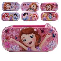 迪士尼白雪公主冰雪奇缘苏菲亚儿童可爱铅笔盒大容量笔袋文具盒