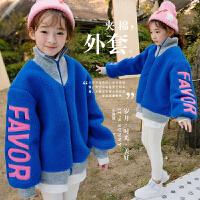 女童外套2017冬装韩版中大童刺绣夹棉加厚大衣儿童保暖加绒夹克潮