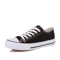 帆布鞋女平底经典学生板鞋ins街拍原宿小白鞋韩版ulzzang布鞋