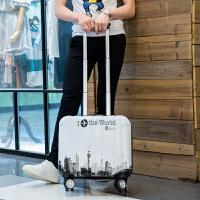 18寸拉杆箱女密码箱小行李箱万向轮电脑层17寸登机箱16寸旅行箱