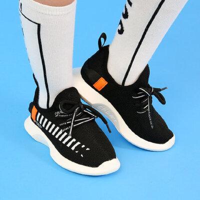 儿童运动鞋男童跑步鞋学生女童运动鞋 潮轻便透气