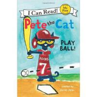 My First Level: Pete the Cat: Play Ball! 皮特猫打棒球!