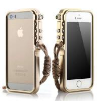 捷力源苹果iPhone5S金属边框5S手机壳苹果5保护外壳 适用于苹果iPhone5/5S铝合金保护套