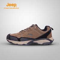 【满300减90/满500减150】Jeep/吉普 男士户外运动徒步登山鞋J662039077