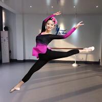 古典舞演出服女练功服秋新款中国风舞蹈套装现代舞服装民族舞