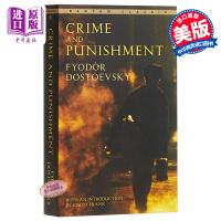 【中商原版】罪与罚英文原版小说英文版Crime and Punishment 陀思妥耶夫斯基经典名著 原版英文小说书